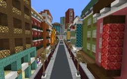 Effloresca - a Minecraft City Minecraft Project