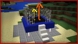 How to make a TRAMPOLINE in Minecraft MCPE! (MCPE command blocks) Minecraft Map & Project