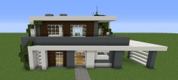 Modern house n°1 Minecraft Map & Project