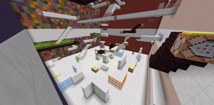 PvP Arena War Of Jump 18 Minecraft Project