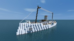 SMS Schlesien Minelayer By Rising Forces Minecraft Project