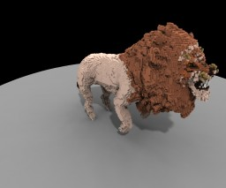 Lion organic Minecraft