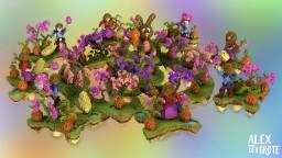 TeamSkywars: Spring - CubeCraftGames Map Minecraft