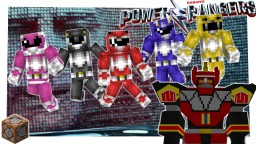 Mighty Morphin Power Rangers - ONLY 2 COMMANDS! Minecraft Map & Project