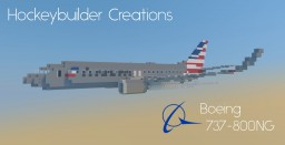 Boeing 737-800NG Minecraft Map & Project