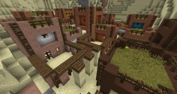 Desert Micro-Town Minecraft Map & Project