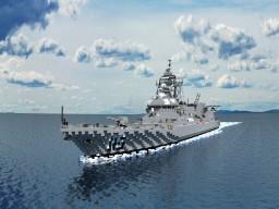 Akizuki-class destroyer Minecraft