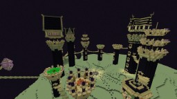 The fortress of the end Minecraft Project