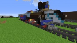 Jupiter 4-4-0 Steam Loco from the Transcontinental Railroad (SCREENS ONLY) Minecraft Project