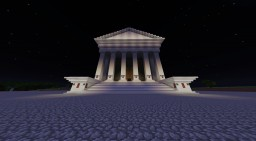 Roman Temple - Contribution Minecraft