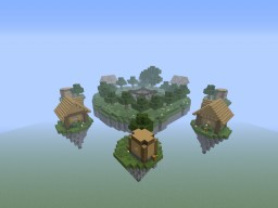 SkyVillage (Skywars Map) Minecraft Project