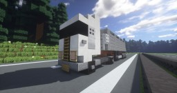 | Vehicle | European truck Minecraft Map & Project