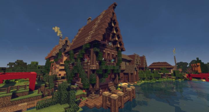Schematic Medieval Wine House Minecraft Project - Minecraft mittelalter haus schematic