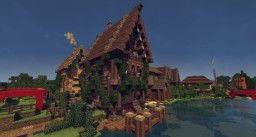 Schematic - Medieval Wine House Minecraft Project