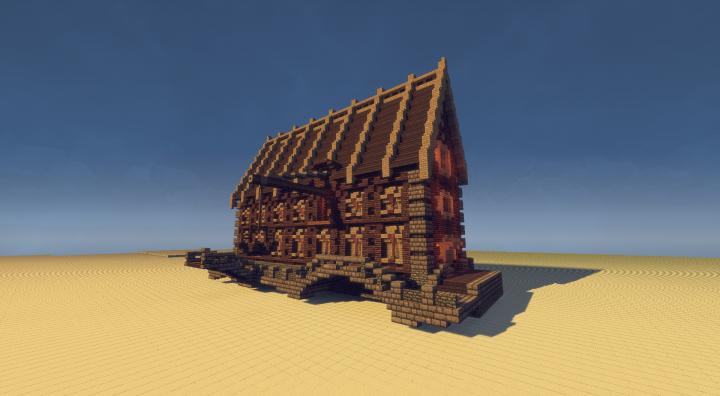 Schematic Warehouse On The Docks Minecraft Project - Minecraft mittelalter haus schematic
