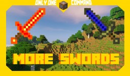 More Swords | Command Block Creation Minecraft Map & Project