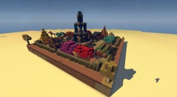 Schematic - Medieval Marketplace Minecraft Map & Project