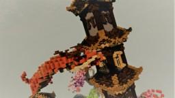 Pagoda [75x75] Plot #22 Minecraft Map & Project