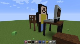 SEE JHON DOE AND HIS  BROTHER HACKING Minecraft Project