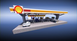 Shell Petrol Station | Number 2 Minecraft