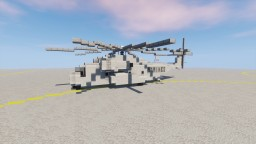 Sikorsky CH-53D Sea Stallion 1,5:1 +Download Minecraft Map & Project