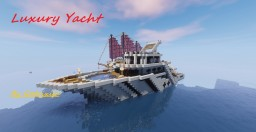 Short luxury yacht Minecraft Map & Project