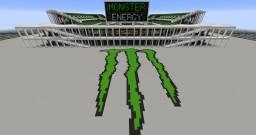 Monster Energy Stadium (fictional) Minecraft Map & Project