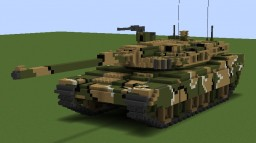 K2 BLACK PANTHER TANK Minecraft Project