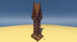 Schematic - Small Desert Woodtower Minecraft Project