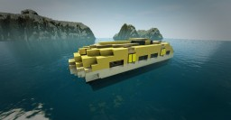 Modern Lifeboat Tender Minecraft Project