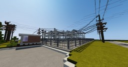 Mantioba Hydro Substation rebuild | ECS Minecraft