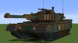 Japanese Type 90 kyu-maru tank Minecraft Project