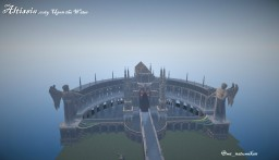 Gate of Altissia,city upon the water in minecraft from FF15(FFXV) Minecraft Map & Project