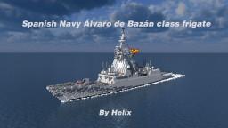 Álvaro de Bazán-class frigate [1:1 scale] Minecraft Project