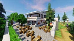 Modern Mansion Minecraft Project