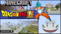 "Dragon Ball Super ""RPG PvP"" Map Minecraft Map & Project"