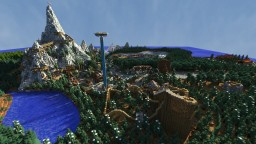 FjellThorpe: Theme Park of the Nordic Mountains Minecraft Map & Project