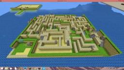 Maze and Harrow island Minecraft