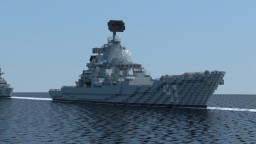 Míngyuè-class heavy cruiser Minecraft Map & Project