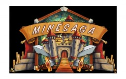 MineSaga | Survival PvE ~ Custom Items, Loot, Enchants | Economy | McMMO | Jobs | Super Friendly! | Discord Minecraft Server