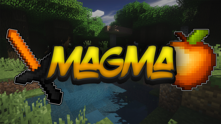 Popular Texture Pack : Magma | The Best Orange Texture Pack Ever [16x] [Orange] [FPS Boost] [1.7.10 - 1.13.1]