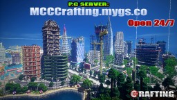 MCC Crafting P.C Server LBS City Los Block Santos Minecraft Server