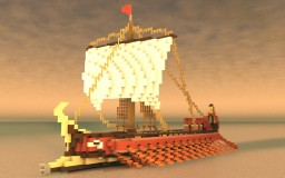 Grec trireme | The Maiestas Minecraft Map & Project