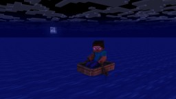 The dark maelstrom and the island where time doesn't exist. Minecraft Blog Post