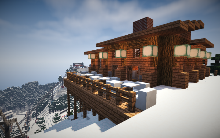 how to craft in minecraft working ski resort 3 0 with working lifts minecraft 1 6769