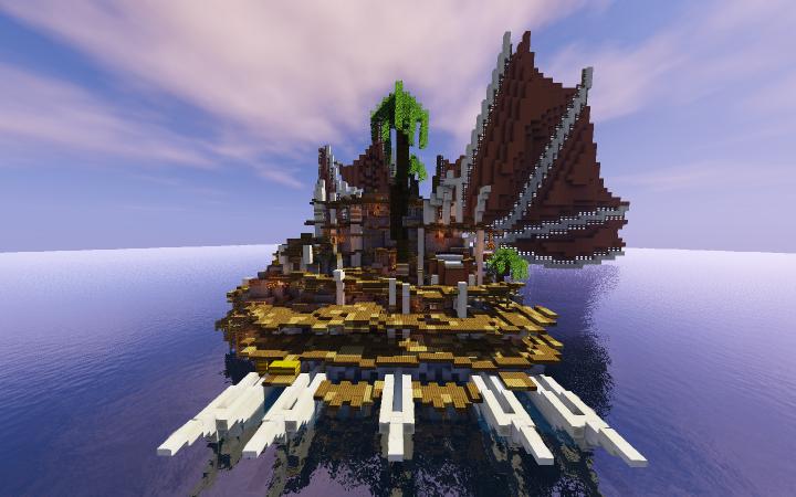 moana kakamora ships minecraft project