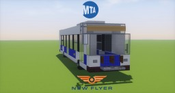 MTA New Flyer XD40 Bus Minecraft Map & Project