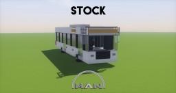 MAN Lion's City A21 Bus Minecraft Project