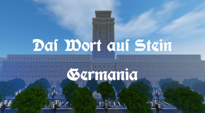 The Word Of Stone Welthauptstadt Germania Minecraft Project - Minecraft hauser aus stein