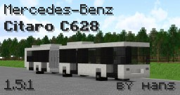 Mercedes-Benz Citaro C628 | 1.5:1 Scale Minecraft